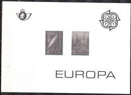 ZW2283/84  Europa 1988 - MNH** - LOOK!!!! - Zwarte/witte Blaadjes