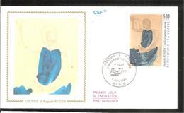 FDC 1990 RODIN - 1990-1999