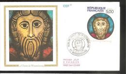 FDC 1990 Le Christ De WISSEMBOURG - 1990-1999