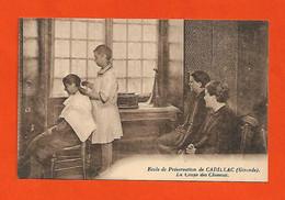 33 Cadillac Ecole De Préservation La Coupe De Cheveux Coiffeur Gramophone éditeur H.Manuel Dos Scanné - Unclassified