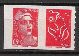 France - 2006 - N°Yv. P96 - Marianne De Gandon - Paire De Carnet - Neuf Luxe ** / MNH / Postfrisch - Adhesive Stamps