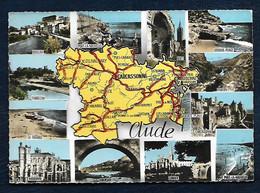 Carte Postale - Carte De L'Aude - Ohne Zuordnung