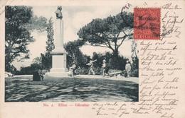 Cpa  Gibraltar - Elliot  - Circulé En 1906 (voir Scan Recto-verso) - Gibraltar
