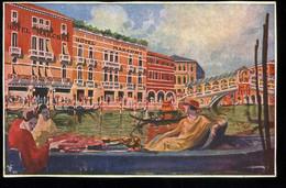Venezia Hotel Marconi Canal Grande Ponte Di Rialto Savoldi - Venezia