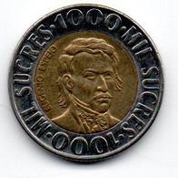 Equateur - 1000 Sucres 1996 SUP - Ecuador