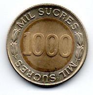 Equateur - 1000 Sucres 1997 SUP - Ecuador