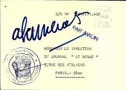 Lettre  EMA Secap 19?? Republique Du Congo  C38/18 - Zonder Classificatie