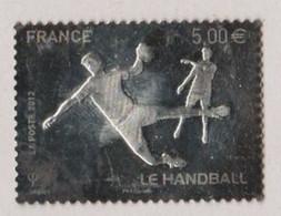 FRANCE 2012  F 738 Le HANDBALL En Argent Timbre Oblitéré - 2010-.. Matasellados