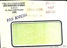 Lettre  EMA Havas 19?? Union Internationale Banques  Tunis Tunisie  C38/23 - Zonder Classificatie