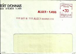 Lettre  EMA Havas 1965  Banques Alger Algerie  C38/24 - Zonder Classificatie