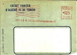 Lettre  EMA Havas 1963 Credit Foncier Algerie Tunisie Alger  C38/26 - Zonder Classificatie