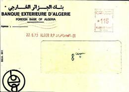 Lettre  EMA Havas 1973 Banque Exterieure D'algerie  Alger  C38/27 - Zonder Classificatie