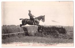 Saumur - Lieutenant Colonel Commandant En Second - édit. Fr. Voetcker 131 + Verso - Saumur