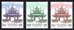 Thailand 2021, Thai Definitive Postage Stamps - Thai Pavilion (New Values) - Tailandia
