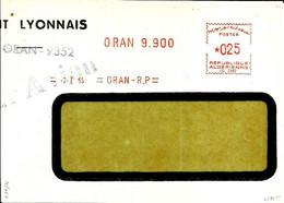 Lettre  EMA Havas 1965  Algerie  Oran  C38/30 - Zonder Classificatie