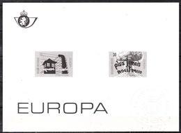 ZW2597/98  Europa 1995 - Bonne Valeur - MNH** - LOOK!!!! - Zwarte/witte Blaadjes