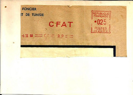 Lettre  EMA Havas 1960   CFAT Algerie  Oran  C38/32 - Zonder Classificatie