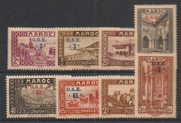Maroc - 1938 - N°Yv. 153 à 160 - Série Complète - Neuf Luxe ** / MNH / Postfrisch - Neufs