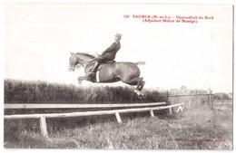 Saumur - Oppenditch Du Breil - Adjudant Maître De Manège - édit. Fr. Voelcker 120 + Verso - Saumur