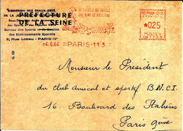 Lettre  EMA Havas 1964  Ne Laissez De Traces Ecologie  75 Paris C38/34 - Honden