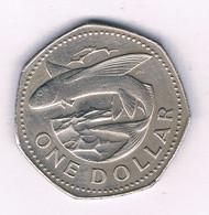 1 DOLLAR 1979 BARBADOS /3049/ - Barbados