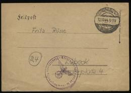 S0753 DR Kriegsmarine Feldpostbrief ,Schiff Schwerer Kreuzer Admiral Scheer, Ostsee:gebraucht Feldpost M 10149  - Lübe - Covers & Documents
