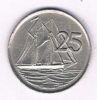 25 CENTS 1977 CAYMAN ISLANDS /3053/ - Cayman Islands