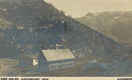 AUSTRIA  ÖSTERREICH - STEIERMARK - EISENERZ, Werkshütte, Foto-Karte MAX HELFF, JUDENBURG - Eisenerz