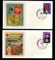 FDC Zijde : Nr 1705/06 Stempel: Brussel 1050 Bruxelles - 1971-80