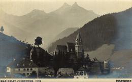 AUSTRIA  ÖSTERREICH - STEIERMARK - EISENERZ, Totale, Foto-Karte MAX HELFF, JUDENBURG - Eisenerz