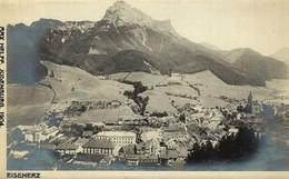 AUSTRIA  ÖSTERREICH - STEIERMARK - EISENERZ, Gesamtansicht, Foto-Karte MAX HELFF, JUDENBURG - Eisenerz