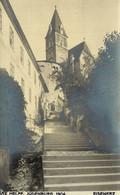 AUSTRIA  ÖSTERREICH - STEIERMARK - EISENERZ, Aufstieg Zur Kirche, Foto-Karte MAX HELFF, JUDENBURG - Eisenerz