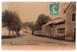 Mornand - Route De Montrond-les-Bains - édit. Michon  + Verso - Other Municipalities