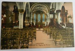 Lessines. Intérieur De L'Eglise St-Pierre. ( Couleur) - Lessines