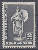 ++M1437. Iceland 1939. Michel 207. MNH(**) - Ungebraucht