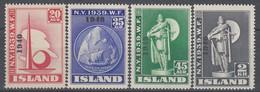 ++M1438. Iceland 1940. Michel 218-21. MNH(**) - Ungebraucht