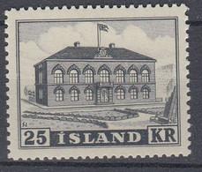 ++M1445. Iceland 1952. Parlament Building. Michel 277. MNH(**) - Ungebraucht