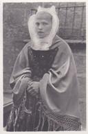 Photographie Type CDV Finistère Roscoff Costume & Coiffes Bretonne Roscoff Réf 4081 - Antiche (ante 1900)