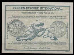 GREAT BRITAIN Ro2 3d.InternationalReply Coupon Reponse IRC IAS Antwortschein O LONDON 3.9.15 - Scotland