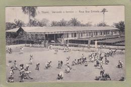 S. THOME  VARRENDO O TERREIRO  ROCA BOA ENTRADA - Sao Tome And Principe