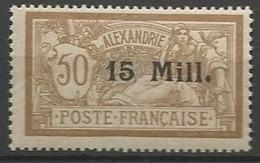 ALEXANDRIE N° 46 NEUF**  SANS CHARNIERE / MNH - Nuovi