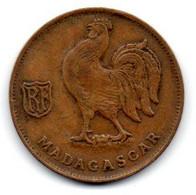 Madagascar 1 Franc 1943 TB+ - Madagascar