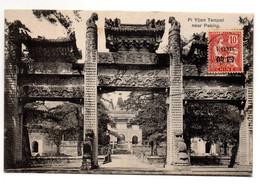 Pi Yuen Tempel Near Pekin En 1908 - Cina