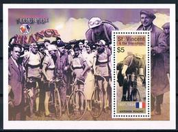 Bloc Sheet Tour De France Vèlo Cyclisme Bike Cycling  Antonin Magne  Neuf  MNH ** St Vincent & The Grenadines - Wielrennen