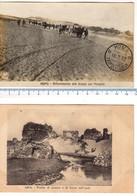 N° 2 Cartoline 1912 AFRICA Settentrionale - Tripolitania - TRIPOLI - HOMS - Guerra Italo-Turca - Libya