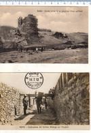 N° 2 Cartoline 1912 AFRICA Settentrionale Tripolitania - TRIPOLI - HOMS - Guerra Italo-Turca - Libya