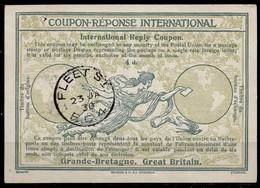 GREAT BRITAIN Ro8 4d.InternationalReply Coupon Reponse IRC IAS Antwortschein O FLEET ST. 23.01.30 - Scotland