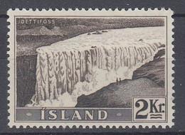 ++M1450. Iceland 1956. Waterfalls / Power. Michel 307. MNH(**) - Ungebraucht