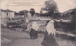 FLORINA        FEMMES TURQUES SUR LES QUAIS DE LA SUKULEVA - Macedonia