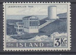 ++M1452. Iceland 1956. Waterfalls / Power. Michel 309. MNH(**) - Ungebraucht